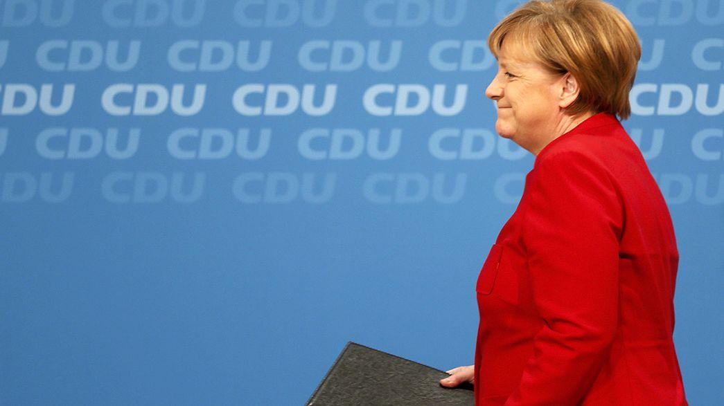 La candidature de Merkel contestée au Parlement européen