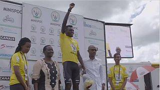 Tour du Rwanda : Ndayisenga fini en maillot jaune