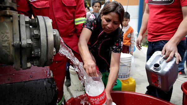 Habitantes de La Paz culpam companhias mineiras chinesas da seca