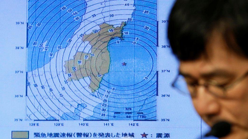Japán: zavar keletkezett a fukusimai erőműnél a földrengés miatt