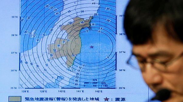 خفض درجة مخاطر وقوع مد بحري في اليابان بعد الزلزال