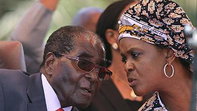 I'm already Zimbabwean president - Mugabe's wife