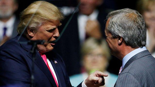 Trump, İngiltere'nin ABD büyükelçiliği için Nigel Farage'ı istiyor