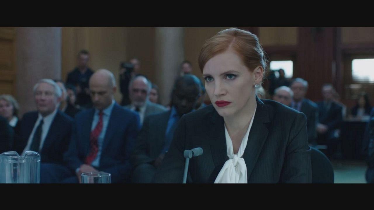 Jessica Chastain kőkemény washingtoni lobbista: Miss Sloane