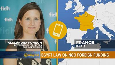 Egypt law on NGO foreign funding [The Morning Call]