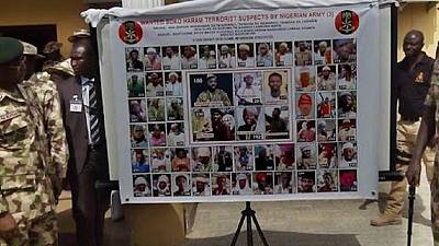 Boko Haram 'most wanted', Nigerian army publishes new list