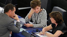 Britischer Brexit-Minister Davis besucht Europaparlament