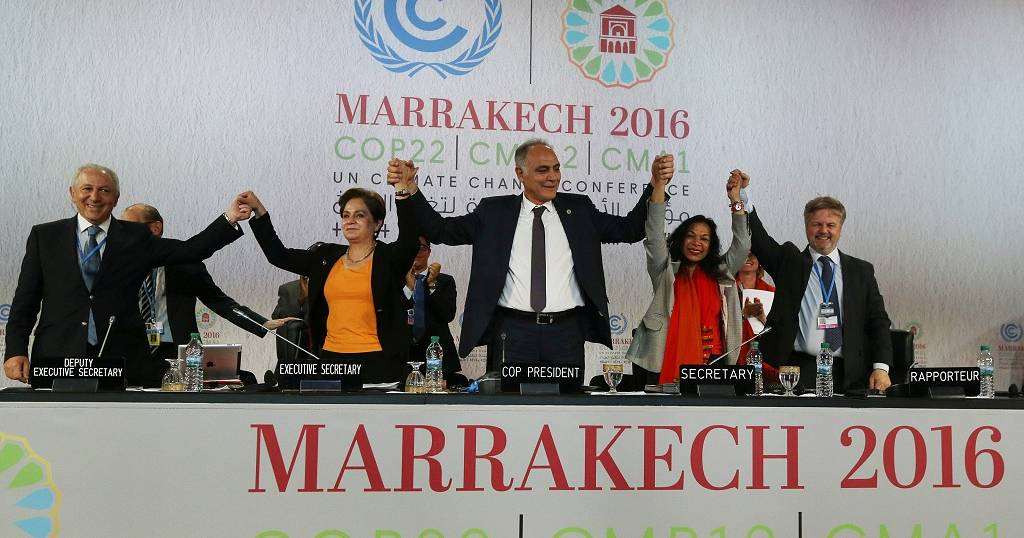 Cop22 Ends With Declaration That Climate Change Is An Urgent Duty