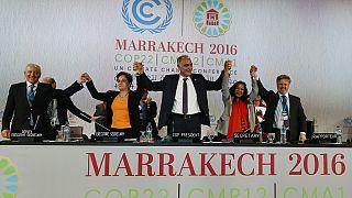 Climat : signaux positifs envoyés par la COP22