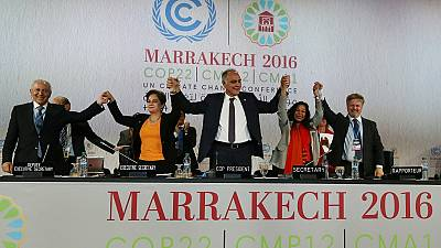 COP22 ends with declaration that climate change is an 'urgent duty'