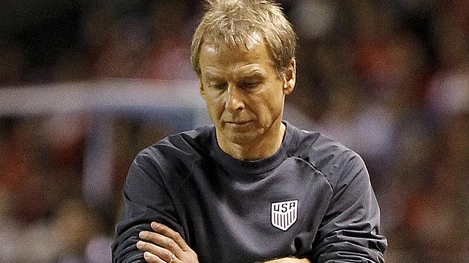 Klinsmannt elküldték az amerikai kispadról