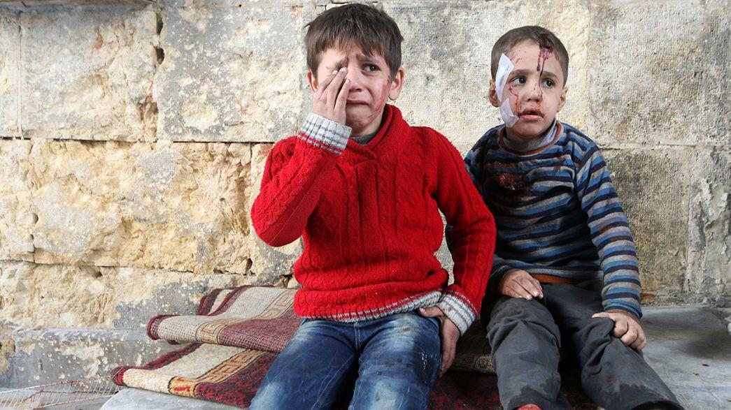Alep-Est et ses habitants toujours sous le feu des bombardements