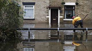 Britain battered by winter storms