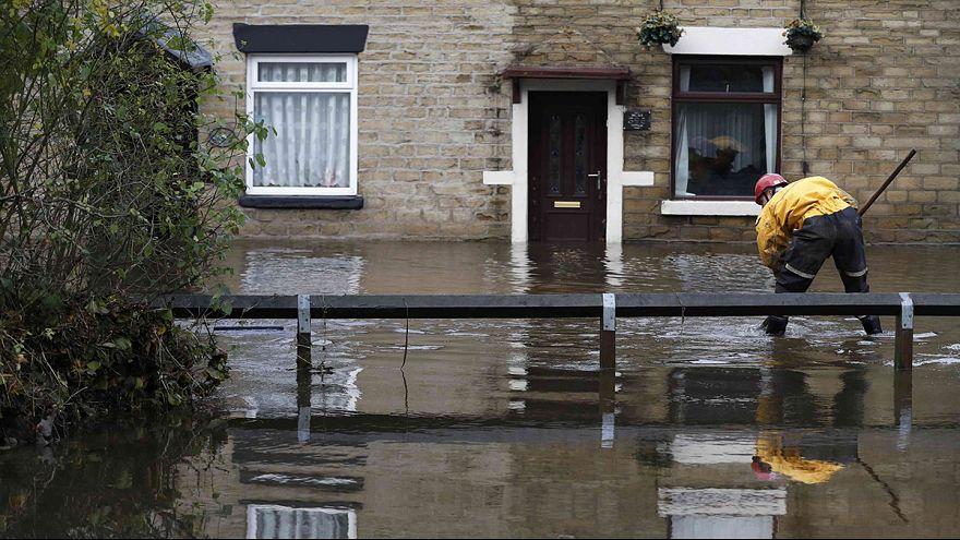 باران شدید و سیل در مناطقی از بریتانیا
