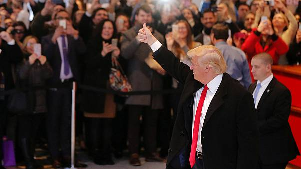 Donald Trump, New York Times'ı ziyaret etti