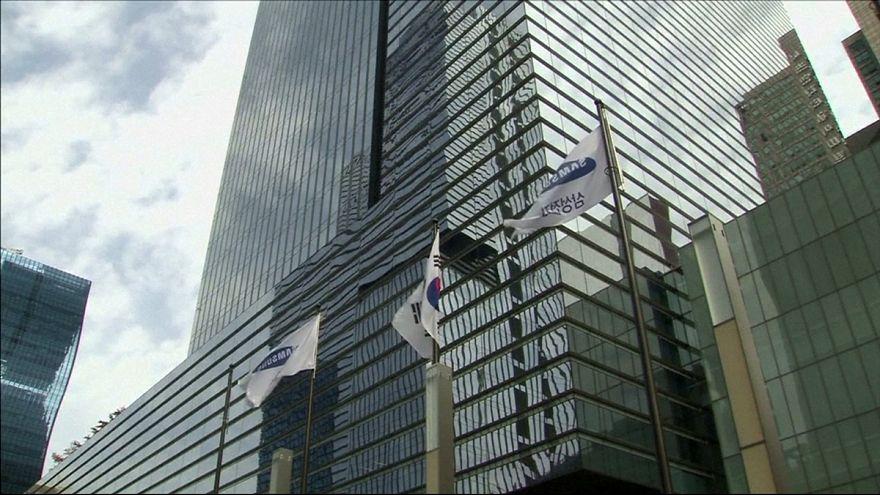 Buscas na Samsung em caso de corrupção que envolve presidente da Coreia do Sul