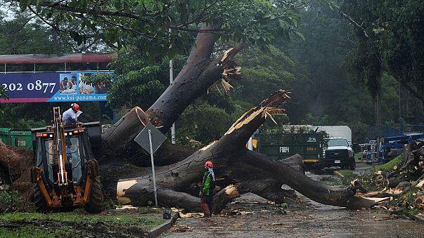 Costa Rica e Nicarágua preparam-se para o furacão Otto