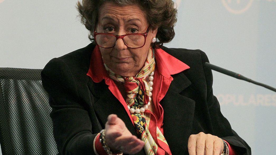 Espagne : mort de Rita Barberá, figure contestée de la droite