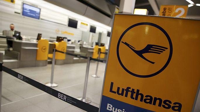 Lufthansa inicia una huelga de pilotos con 876 vuelos anulados que se prolongará a lo largo del jueves