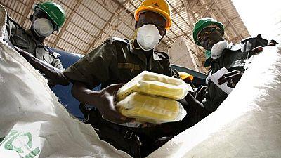 Bénin : saisie de 54 kilogrammes de cocaïne au port de Cotonou
