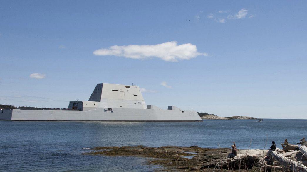 Etats-Unis : panne d'un navire de guerre à 4 milliards de dollars
