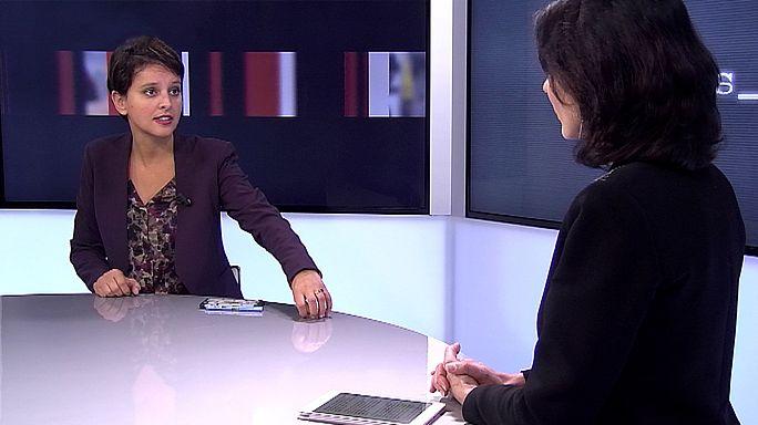 """Najat Vallaud-Belkacem : """"Il faut élever le niveau de tous les élèves et renforcer les filières professionnelles"""""""
