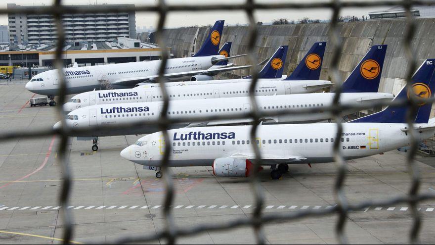 Greve de pilotos alemães da Lufthansa até sexta-feira
