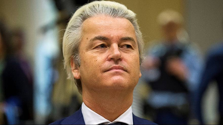 Geert Wilders blasts 'political trial' over rally call for fewer Moroccans