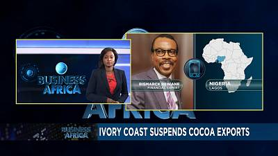 Ivory Coast suspends cocoa exports, S. Leone  austerity measures & e-agribusiness in Togo [Business Africa]