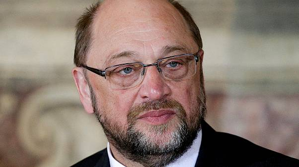 Martin Schulz stands down as EU parliament president