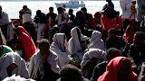 600 migrants sauvés de la noyade rapatriés en Sicile