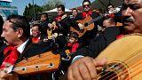 Messico: i Mariachi celebrano santa Cecilia