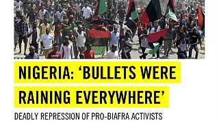Accusée d'avoir tué 150 militants biafrais, l'armée nigériane répond à Amnesty International