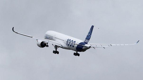 Airbus A350-1000 já voou pela primeira vez