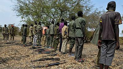 South Sudan rebel group agrees to end recruitment of child soldiers
