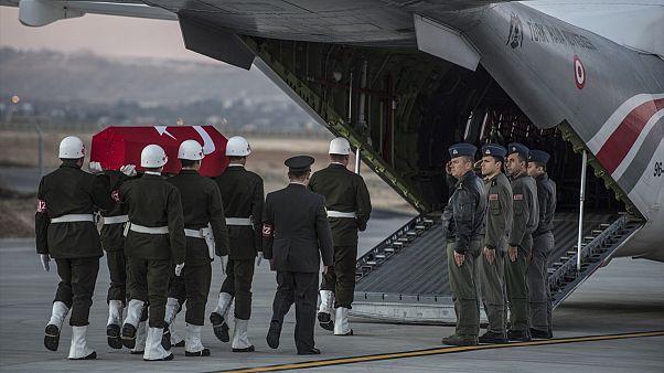 Suriye'de 3 Türk askeri şehit oldu