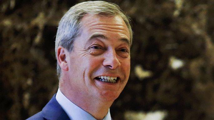 Nigel Farage: Brexit ve Trump'ın seçilmesi dünya siyasi arenasında bir 'devrim'dir