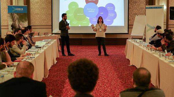 Suriyeli girişimciler Türk iş dünyasının önde gelen isimleriyle buluşuyor