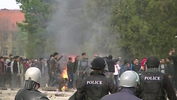 Bulgaristan'da göçmen kampında tansiyon yükseldi