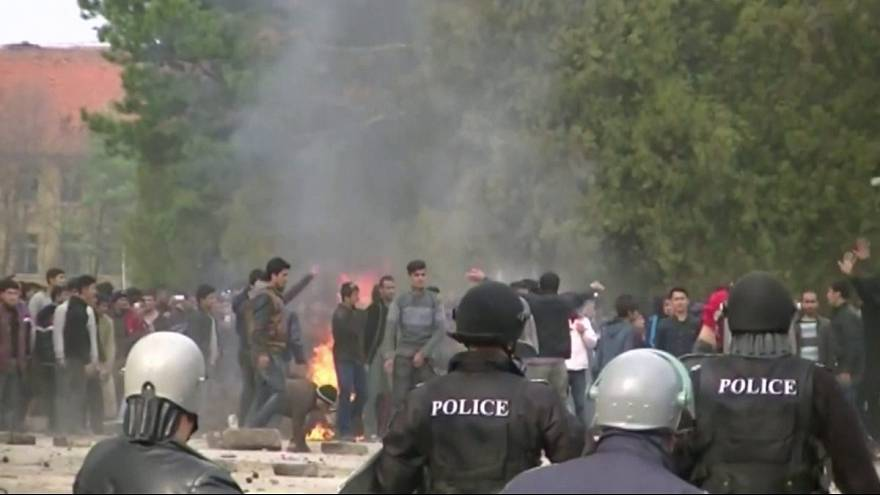 Migrants riot at Bulgarian refugee camp