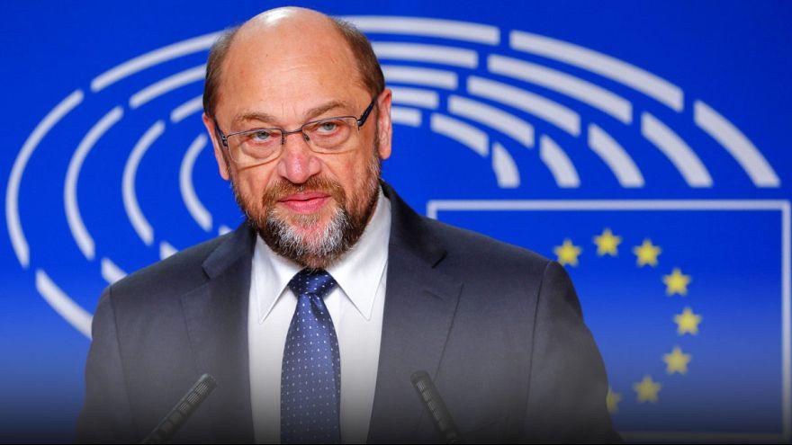 مارتن شولز، الرئيس الحالي للبرلمان الأوروبي، سيترك منصبه في مستهل العام المقبل