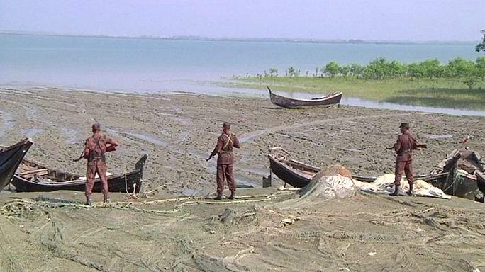Bangladesch macht Grenze für Myanmars Rohingyas zu