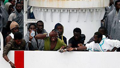 Italie : plus 600 migrants recus au port de Catane en Sicile