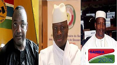 Gambia's three-man presidential race: battle of the age-mates