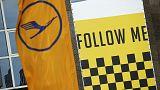 Los pilotos de Lufthansa prolongan su huelga hasta el sábado