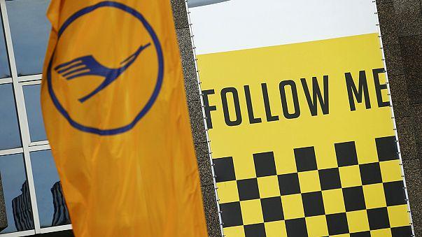 Lufthansa'da pilotların grevi üçüncü gününde