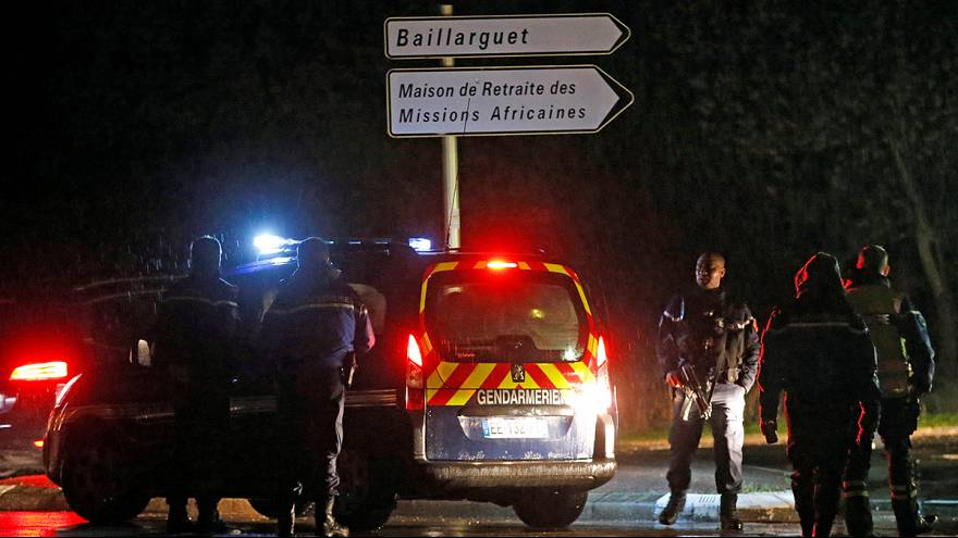 Großfahndung in Südfrankreich: Mord in Altenheim für Mönche