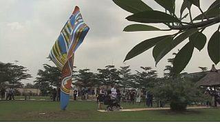 Nigéria : inauguration d'une sculpture en plein air
