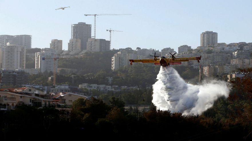 Εκτεταμένες πυρκαγιές στο Ισραήλ