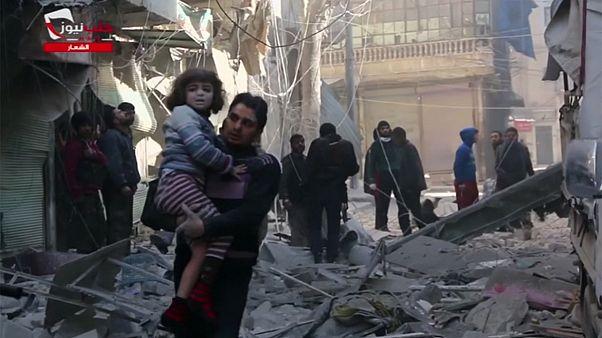 Suriye rejimi yine sivilleri hedef aldı